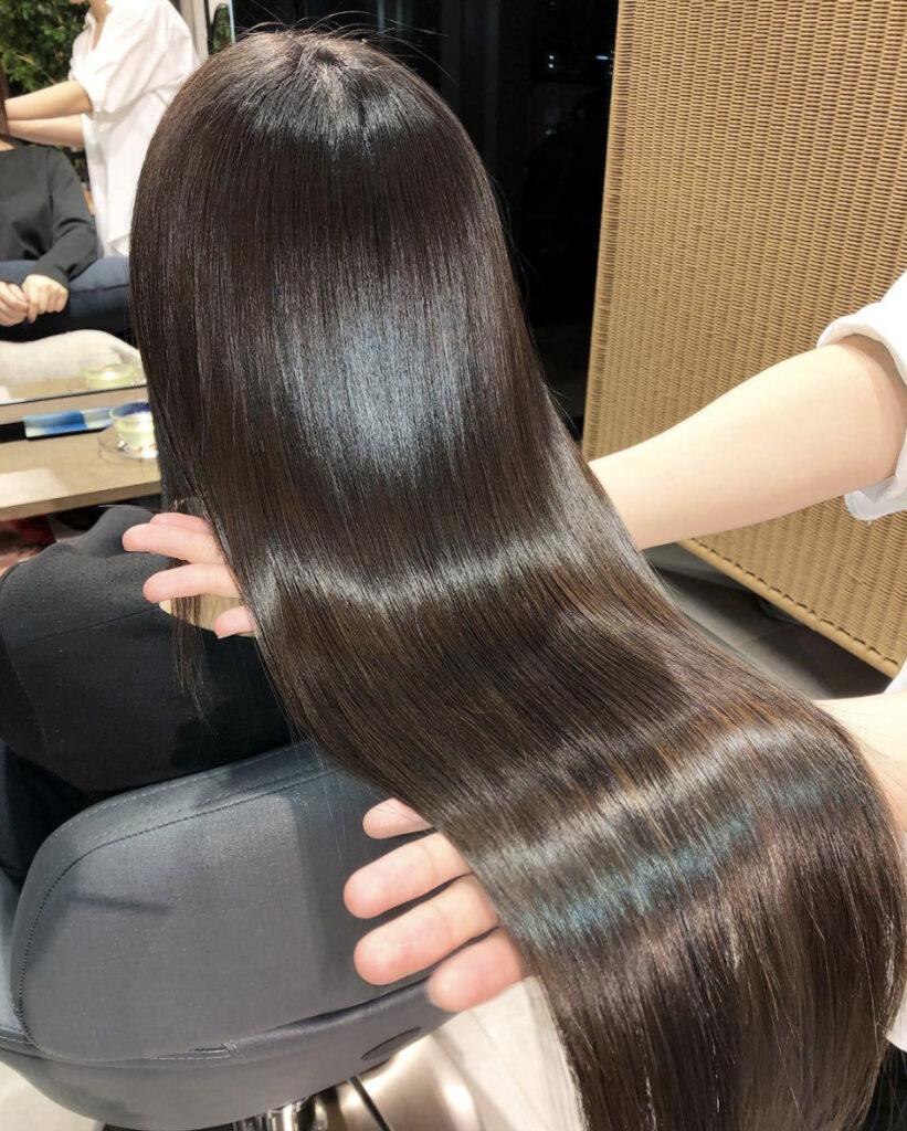 髪質改善、酸熱トリートメント